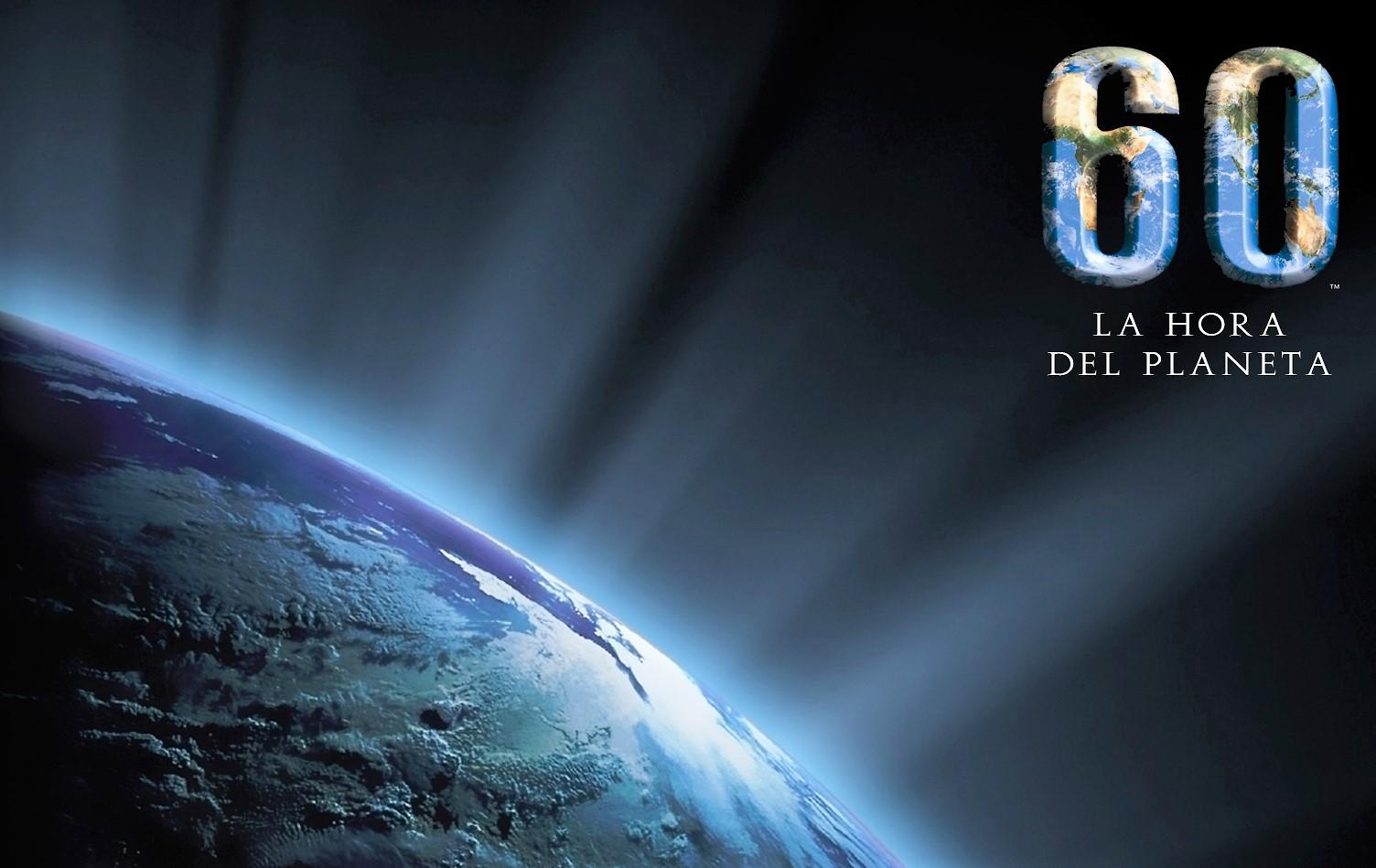 Resultado de imagen para la hora del planeta 25 de marzo de 2017